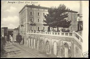 italy, PERUGIA, Grand Hotel Brufani (1910s)