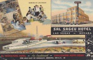 RT 66 ; LAS VEGAS, Nevada, 1948; Hotel Sal Sageu, Gaming at Las Vegas