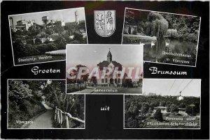 Modern Postcards Groeten Brunssum