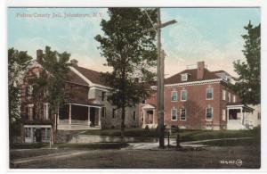 Fulton County Jail Johnstown New York 1910c postcard