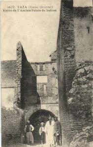 CPA Maroc Taza Ruine de I'Ancien Palais   (23930)