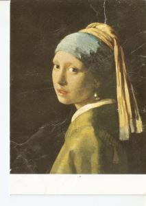 Postal 038313 : Johannes Vermeer. Cabeza de una muchacha