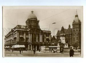 151631 England HULL City Hall Vintage PC