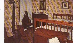 Illinois Springfield Mary Lincolns Bedroom Abraham Lincolns Home