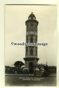 ft1311 - Municipal Clock , Guayaquil , Ecuador , South America - postcard