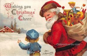 Christmas  Ellen H Clapsaddle International Art Publishing Co. 1907