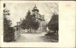 Philmont NY Aken Mansion c1905 Postcard