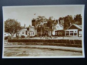 Scotland BRIDGE OF ALLAN Allan Water Hotel c1952 RP Postcard by Valentine B5946