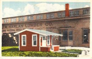 J.M.Harlan Lumber Co. & Bungelow They Were Giving Away