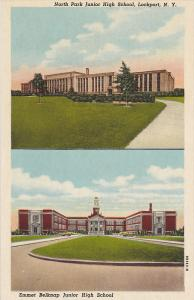 2-views, North Park Junior High School and Emmet Belknap Junior High School, ...