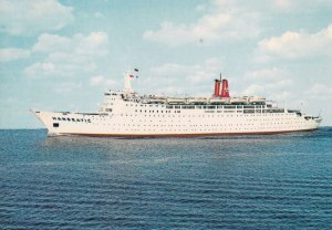German Atlantic Line - TS Hanseatic, 1940-90s