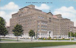 De Paul Hospital St Louis Missouri 1947