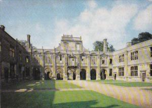 England Northamptonshire Kirby Hall Inner Court Showing The Loggia On North Side