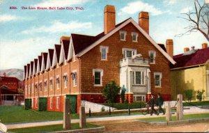 Utah Salt Lake City The Lion House 1909