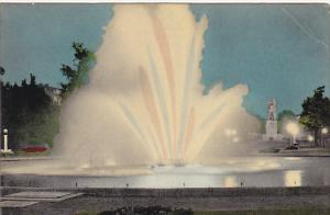 Belgium Gent Fontaine Lumineuse 1957