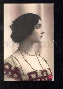 029177 Tinted CAVALIERI Italian Opera Star Old Photo