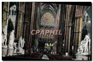 England - England - Church - Valentine & # 39s Series - Old Postcard
