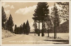 Highway US 40 Donner Lake California