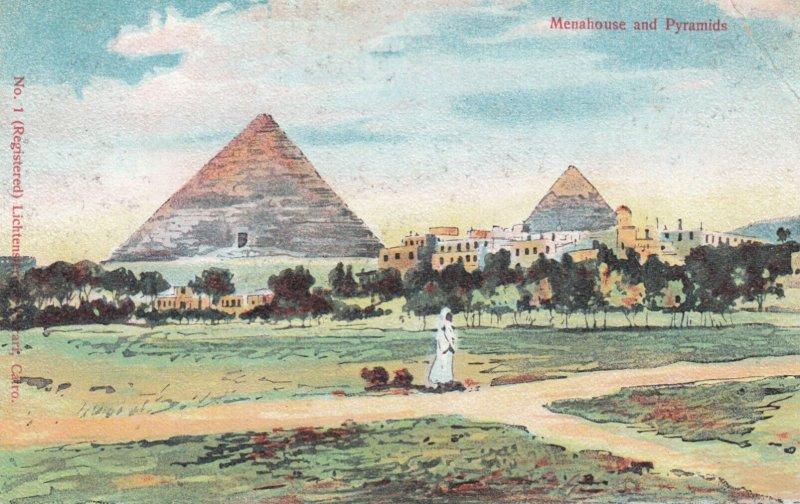 Menahouse & pyramids , Egypt , 00-10s