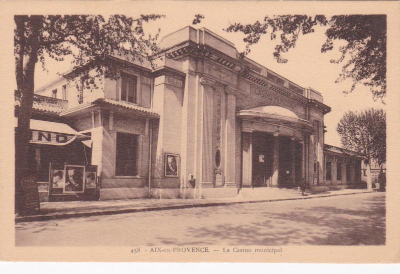 AIX-en-PROVENCE, France , 1900-10s ; Le Casino municipal