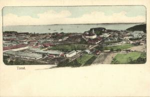 São Tomé, SAO TOME, General View (1910s) Postcard