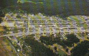 Canada Aerial View 100 Mile House Cariboo Highway British Columbia