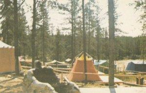 CHAPAIS, Quebec, Canada, PU-1985; Camping Ground