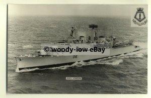 na1605 - Royal Navy Warship -  HMS London - photograph