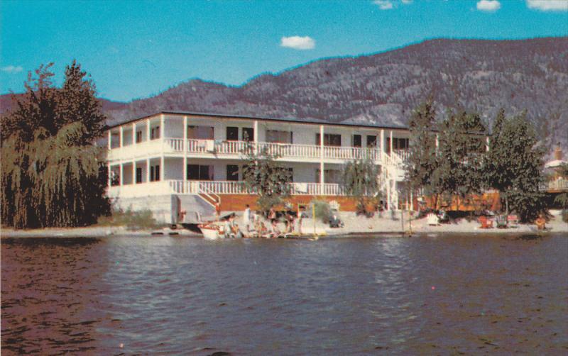 Exterior Sun Beach Motel Osoyoos B C Canada