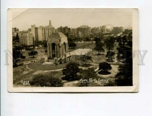 3174133 AUSTRALIA SYDNEY Hyde Park Vintage photo postcard