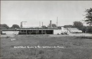 Waterville MN Northrup King & Co Real Photo Postcard