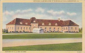 Louisianna Shreveport Officers Club Buildings At Barksdale Field