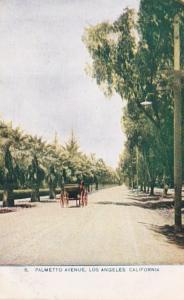California Los Angeles Palmetto Avenue