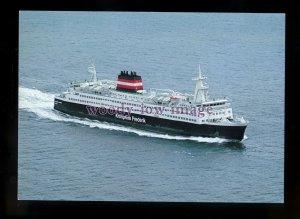 FE2728 - Danish Ferry - Kronprins Frederik , built 1981 - postcard