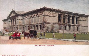 Art Institute, Chicago, Early Postcard, Unused, Published by V. O. Hammon