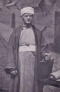 Reverend Samuel Schor Palestine Exhibitions Originator Postcard