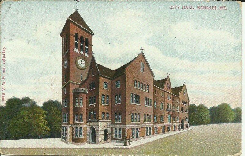 City Hall, Bangor, Maine