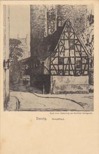 Poland Danzig Kanzelhaus