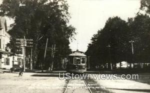 Real Photo, Brill Semi Convertible, 1902 East Corinth ME Unused