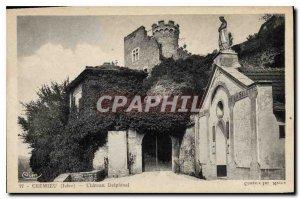 Postcard Old Cremieu Isere Chateau Delphinal