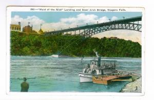 'Maid of the Mist' Landing, Steel Arch Bridge, Niagara Falls, unused