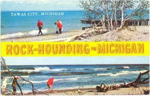 Rock-Hounding in Michigan. Tawas City, MI, Chrome