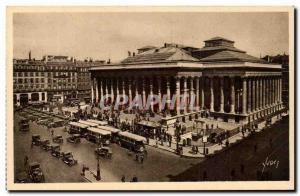 Paris - 2 - The Exchange - The Exchange Building - Postcard Old Stock Exchange