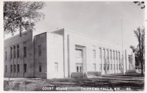 RP, Court House, Chippewa Falls, Wisconsin, 1930-40s