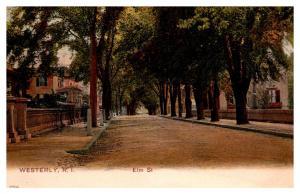 Rhode Island Westerly , Elm street