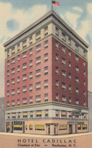 ROCHESTER , New York , 1930-40s ; Hotel Cadillac