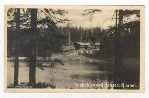 RP  Norge / Norway,  Peisestuen ved Besserudtjernet, PU-1930