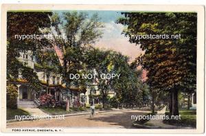 Ford Ave. Oneonta NY
