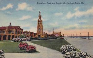 Oceanfront Park And Broadwalk Daytona Beach Florida