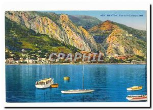 Menton Old Postcard views Garavan
